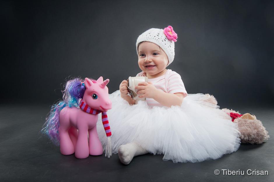 Natalia la 1 an - sedinta foto